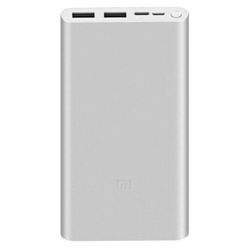 Xiaomi Mi PowerBank 3 10000 mAh 18W – QuickCharge 3.0 Plata